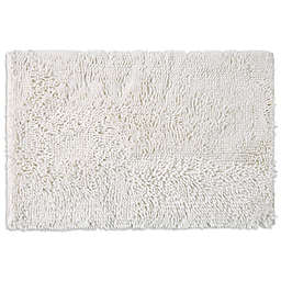 SALT® Noodle Large Bath Mat in White