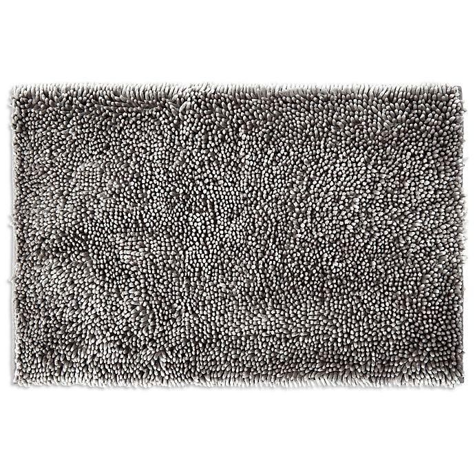 Alternate image 1 for SALT® Noodle Large Bath Mat in Grey