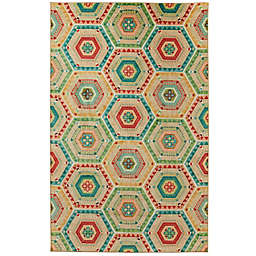 Mohawk® Home Prismatic Southwest Geo 8' x 10' Multicolor Area Rug