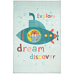 "Mohawk Home® Prismatic Submarine Dream 3'4"" x 5' Multicolor Area Rug"