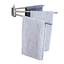 Wall Mounted Stainless Steel 3-Arm Towel Bar