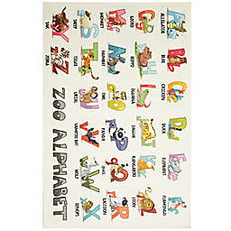 Mohawk Home® Prismatic Alphabet Zoo 8' x 10' Multicolor Area Rug