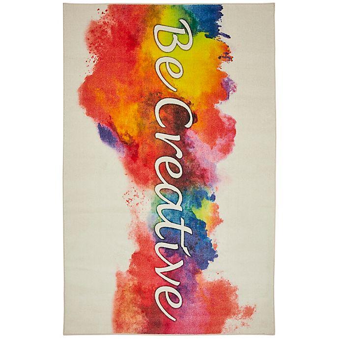 Alternate image 1 for Mohawk Home® Prismatic Be Creative Multicolor Rug