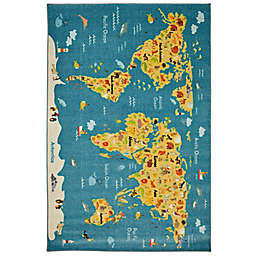 Mohawk Home® Prismatic Animal Map 8' x 10' Multicolor Area Rug