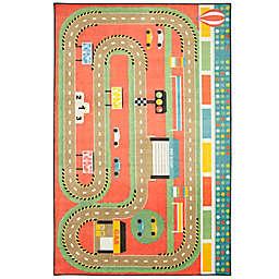 Mohawk® Home Prismatic Race Track Play 3'4 x 5' Multicolor Area Rug