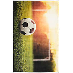 "Mohawk Home® Prismatic Soccer Goal 3'4"" x 5' Multicolor Area Rug"