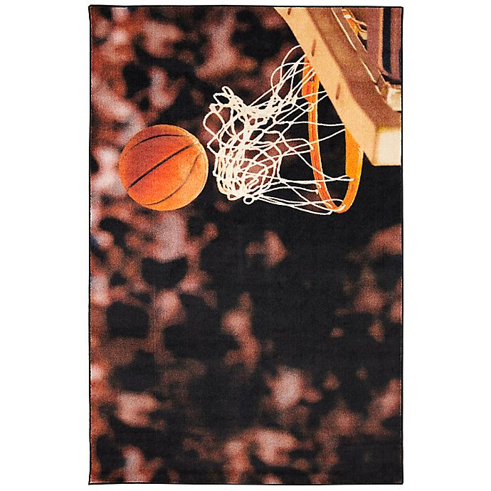 Alternate image 1 for Mohawk® Home Prismatic Basketball Hoop 3'4 x 5' Multicolor Area Rug