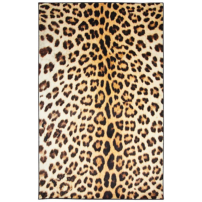 Alternate image 1 for Mohawk® Home Prismatic Cheetah Spots Area Rug in Tan