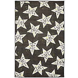 Mohawk® Home Prismatic To The Moon 8' x 10' Area Rug in Black/White