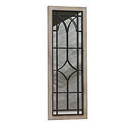 Black Box 14-Inch x 40-Inch Gated Window Mirror in Grey/Black