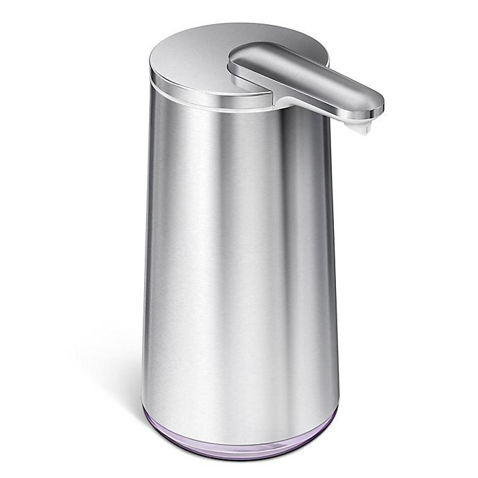 Alternate image 1 for simplehuman® Foam Sensor Pump Soap Dispenser