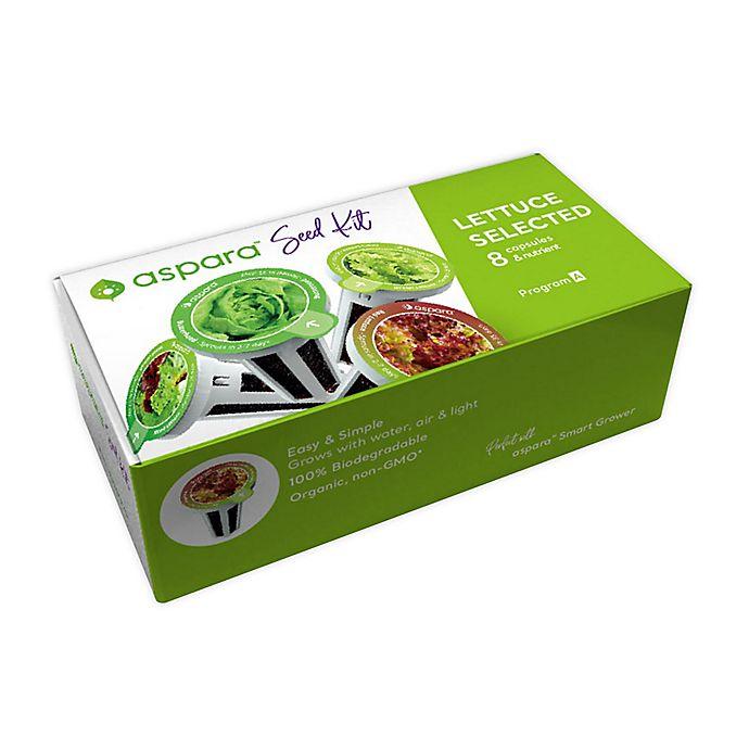Alternate image 1 for Aspara Lettuce 8-Capsule Seed Kit in Green