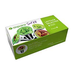 Aspara Lettuce 8-Capsule Seed Kit in Green