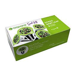 Aspara 8-Capsule Mixed Baby Leaf Seed Kit in Green