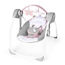 Ingenuity™ Comfort 2 Go™ Flora the Unicorn™ Portable Swing