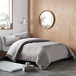 UGG® Devon 3-Piece King Duvet Cover Set in Seal Grey
