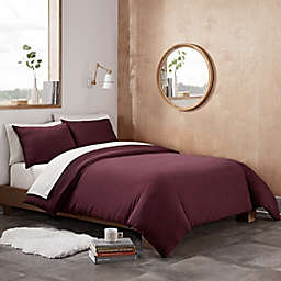 UGG® Devon 2-Piece Twin/Twin XL Duvet Cover Set in Cabernet