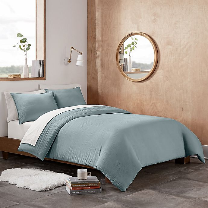 Alternate image 1 for UGG® Devon 2-Piece Twin/Twin XL Duvet Cover Set in Succulent