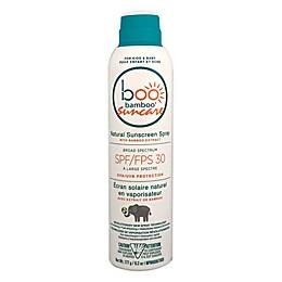 Boo Bamboo Suncare 6.24 oz. Natural Sunscreen Spray with SPF 30