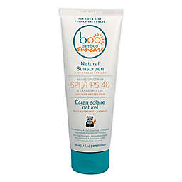 Baby Boo Bamboo 100g SPF 40 Natural Sunscreen with Bamboo Extract