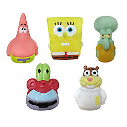 Nickelodeon™ 5-Pack SpongeBob SquarePants Bath Finger Puppets