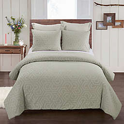 Your Lifestyle by Donna Sharp Seville 3-Piece Queen Comforter Set in Sage
