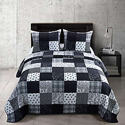Donna Sharp® London 3-Piece Reversible Quilt Set