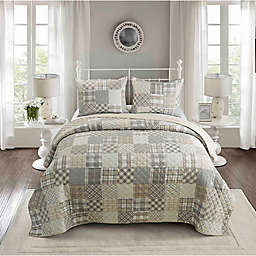 Donna Sharp Somerset 3-Piece Reversible Quilt Set