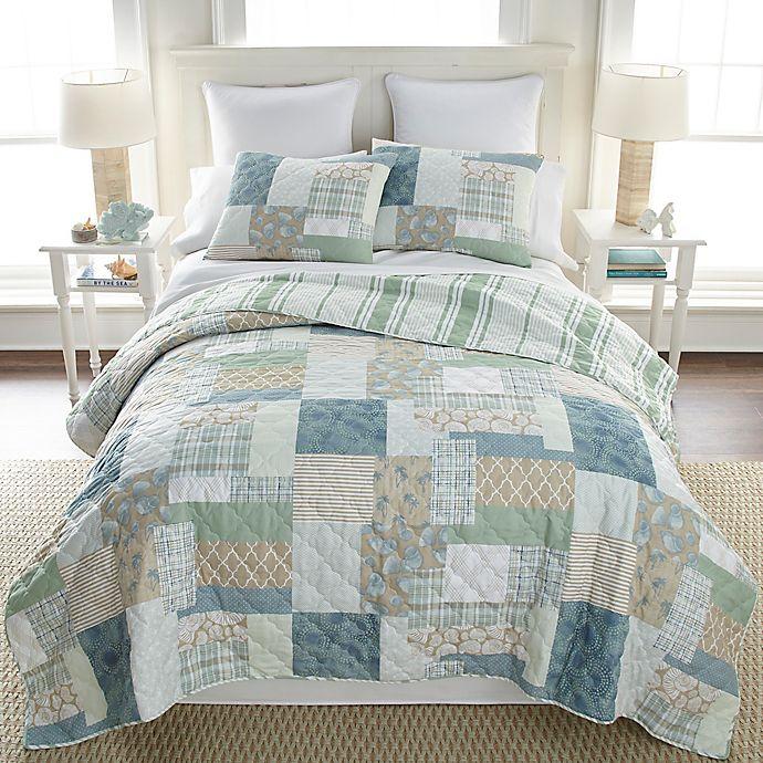 Alternate image 1 for Donna Sharp Tidepool 3-Piece Reversible Quilt Set
