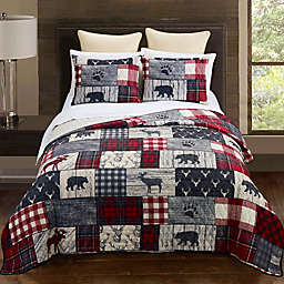 Donna Sharp® Timber 3-Piece Reversible Quilt Set