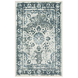 "Mohawk Home Sevan 2' x 3'4"" Accent Rug in Navy/Multi"