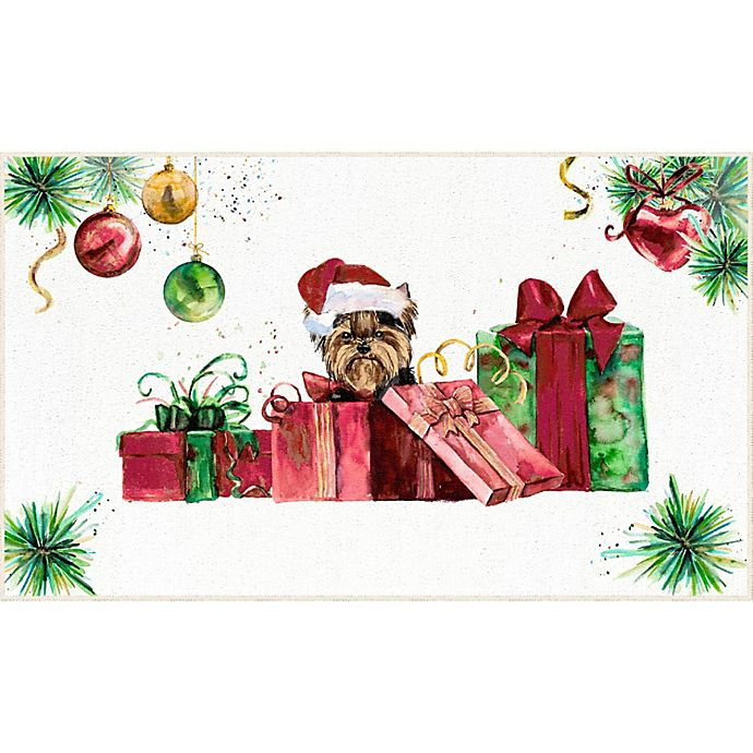 Alternate image 1 for Mohawk Home® Santa Yorkie 2' x 3'4 Accent Rug