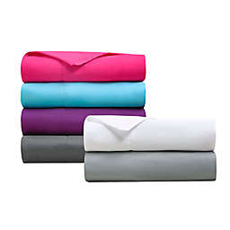Intelligent Design Microfiber Pocket Twin XL Solid Sheet Set