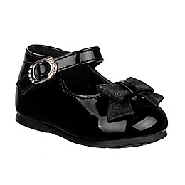 Laura Ashley® Mary Jane Shoe with Bow in Black