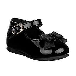 Laura Ashley® Size 8 Mary Jane Shoe with Bow in Black