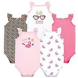 Hudson Baby® 5-Pack Summer Fun Sleeveless Bodysuits