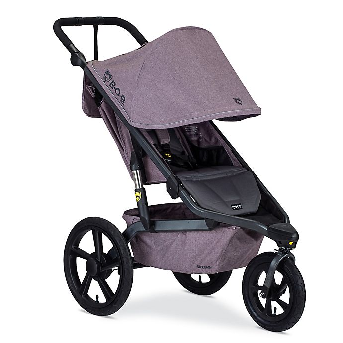 Alternate image 1 for BOB Gear® Alterrain Jogging Stroller in Melange Lilac