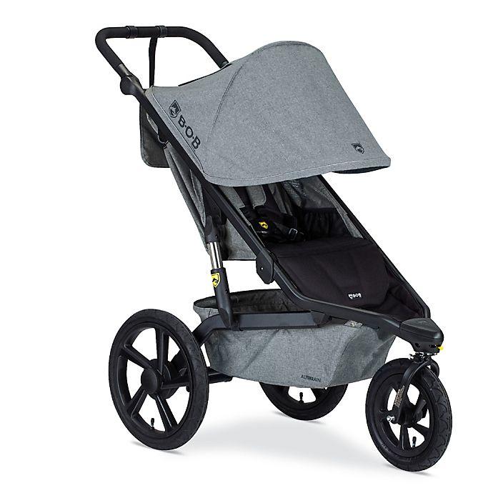 Alternate image 1 for BOB Gear® Alterrain Jogging Stroller in Melange Grey