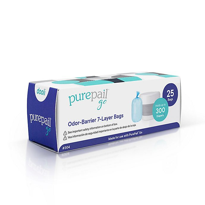 Alternate image 1 for PurePail Go™ 25-Count 7-Layer Refill Bags