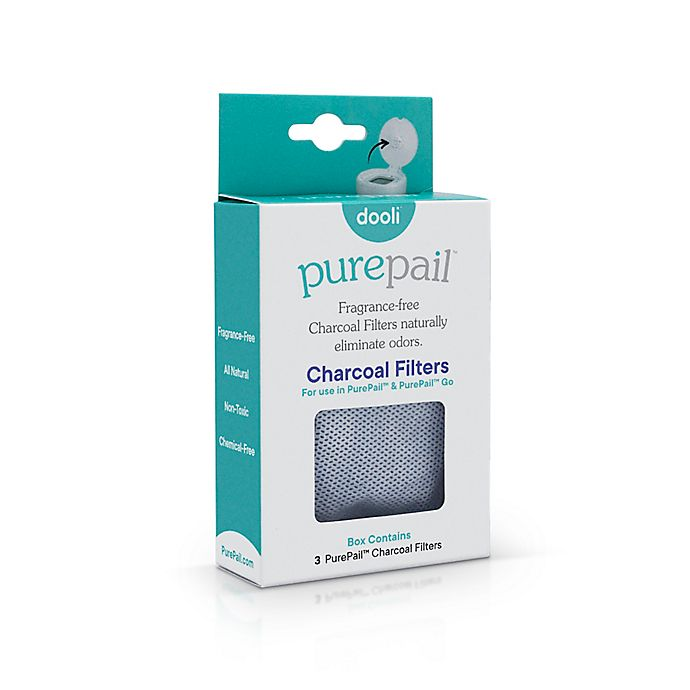 Alternate image 1 for PurePail™ 3-Pack Charcoal Filters