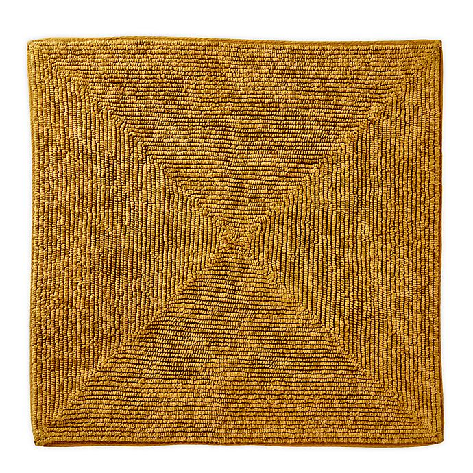 Alternate image 1 for Vern Yip by SKL Home Ombre 25-Inch Square Bath Rug in Yellow
