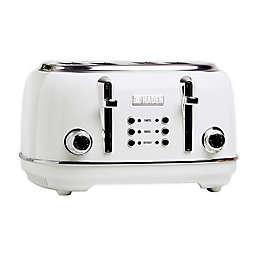 Haden Heritage 4-Slice Toaster Ivory White