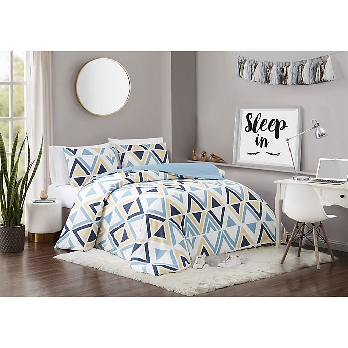 Alternate image 1 for Vince Camuto® Kiki 3-Piece Full/Queen Comforter Set