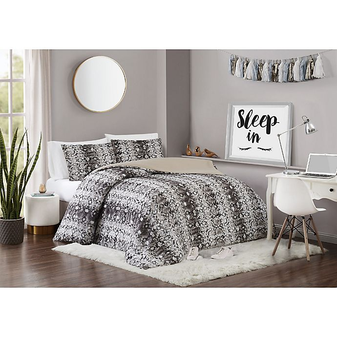 Alternate image 1 for Vince Camuto® Congo 2-Piece Twin XL Comforter Set