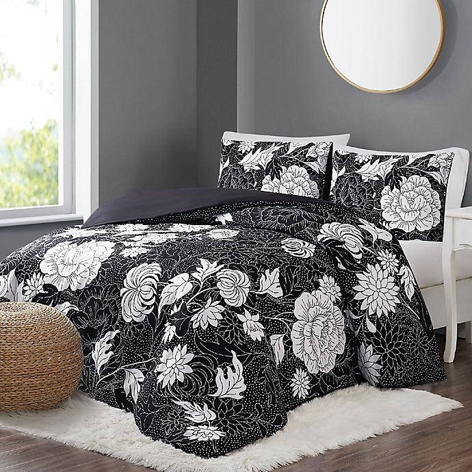 Alternate image 1 for Christian Siriano NY® Blooms 2-Piece Twin XL Duvet Set