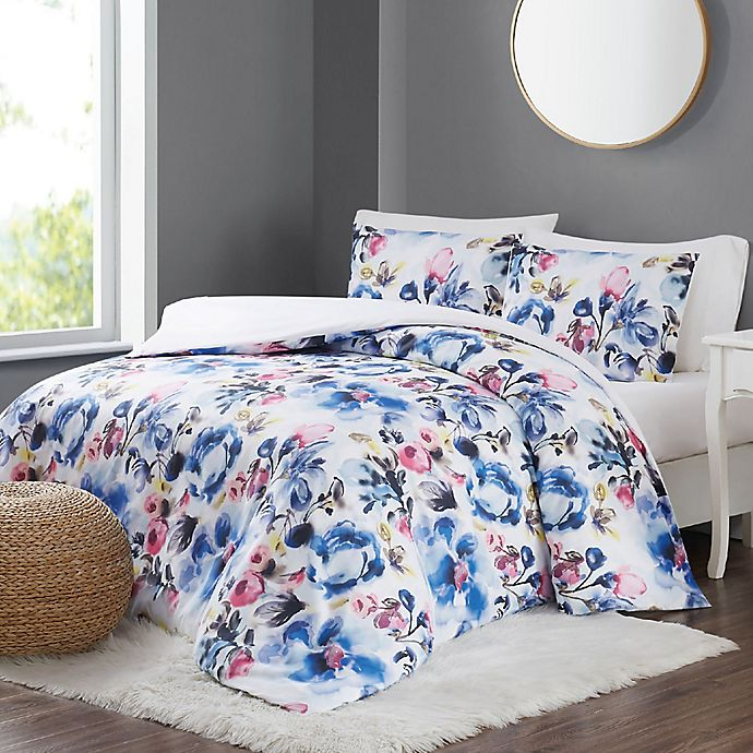 Alternate image 1 for Christian Siriano NY® Mayan 3-Piece Full/Queen Duvet Set