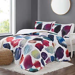 Christian Siriano NY® Artist Strokes 3-Piece Full/Queen Duvet Set