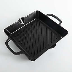 Artisanal Kitchen Supply® Nonstick 10-Inch Cast Iron Grill Pan