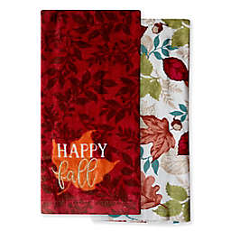 Happy Fall Kitchen Towels (Set of 2)
