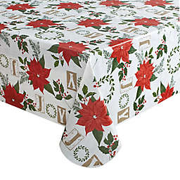 Holiday Joy Wreath Table Linen Collection